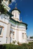 Kerk van de Heilige Vaders in Boroaia, Roemenië stock fotografie