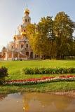 Kerk van de Interventie in Fili Royalty-vrije Stock Fotografie