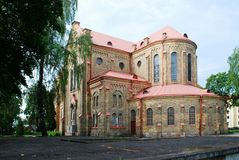 Kerk van de Onbevlekte Ontvangenis van Heilige Maagdelijke Mary Stock Fotografie
