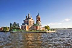 Kerk van de Veertig Martelaren van Sebaste Pereslavl-Zalessky Rusland royalty-vrije stock afbeelding