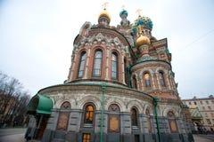 Kerk van de Verlosser op Bloed Stock Foto