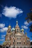 Kerk van de Verlosser op Gemorst Bloed Royalty-vrije Stock Afbeeldingen