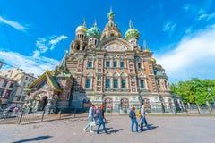 Kerk van de Verlosser op Gemorst Bloed Royalty-vrije Stock Afbeelding