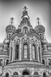 Kerk van de Verlosser op Gemorst Bloed, St Petersburg, Rusland Stock Afbeeldingen