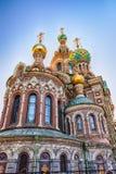 Kerk van de Verlosser op Gemorst Bloed, St Petersburg, Rusland Stock Foto's