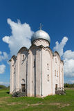 Kerk van de Verlosser op Nereditsa novgorod Rusland stock fotografie