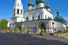 Kerk van de Verlosser op de Stad stock afbeeldingen