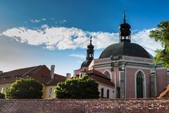 Kerk van de Veronderstelling van Maagdelijke Mary en St Charles Stock Fotografie