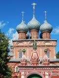 Kerk van de Verrijzenis 17de eeuw in Kostroma in Rusland stock fotografie