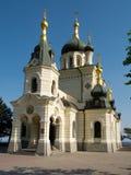 Kerk van de verrijzenis. Foros Stock Fotografie