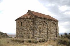 Kerk van de Verrijzenis Klooster Udabno stock afbeelding