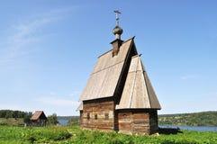 Kerk van de Verrijzenis van Christus in Ples, Rusland Stock Afbeeldingen