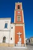 Kerk van Dominicanen. Copertino. Puglia. Italië. royalty-vrije stock afbeelding
