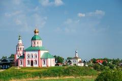 Kerk van Elijah de Helderziende Elias Church - stock fotografie