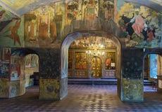 Kerk van Elijah de Helderziende, Yaroslavl stock afbeelding