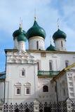 Kerk van Elijah de Helderziende in Yaroslavl (Rusland) Stock Foto's