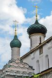 Kerk van Elijah de Helderziende in Yaroslavl Rusland Stock Foto