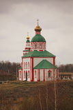 Kerk van Elijah in Suzdal Royalty-vrije Stock Fotografie