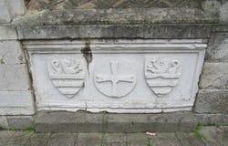 Kerk van Eremitani Stock Afbeeldingen