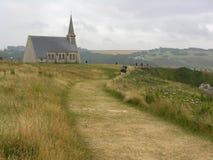 Kerk van Etrenat (Frankrijk) royalty-vrije stock foto's