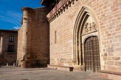 Kerk van Ezcaray Royalty-vrije Stock Foto's
