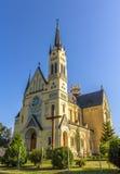 Kerk van Feest van het Kruis in Fastiv Stock Afbeelding