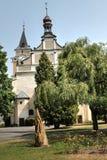 Kerk van Frydlant Stock Fotografie