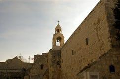 Kerk van Geboorte van Christus, Betlehem, Palestina Stock Afbeeldingen