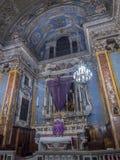 Kerk van Gesu in Nice, Frankrijk Royalty-vrije Stock Fotografie