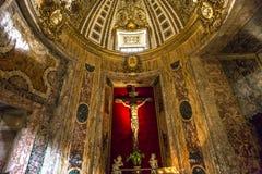 Kerk van Gesu, Rome, Italië Stock Afbeelding