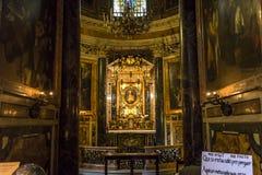 Kerk van Gesu, Rome, Italië Stock Foto