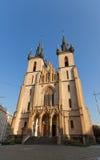 Kerk van Heilige Anthony van Padua (1914) in Praag Stock Afbeelding