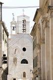 Kerk van Heilige Barbara, nu een geestelijk museum in oud slepen royalty-vrije stock afbeelding