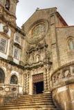 Kerk van Heilige Francis in Porto royalty-vrije stock afbeelding