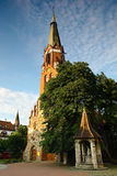 Kerk van Heilige George in Sopot, Polen. Stock Afbeelding