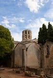 Kerk van Heilige Honoratus (XIII c.) in Arles, Frankrijk Royalty-vrije Stock Foto