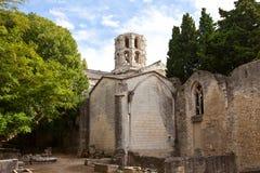 Kerk van Heilige Honoratus (XIII c.) in Arles, Frankrijk Stock Foto's
