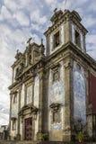 Kerk van Heilige Ildefonso - Igreja DE Santo Ildefonso Royalty-vrije Stock Foto