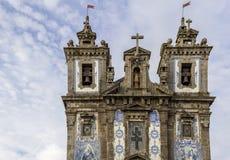 Kerk van Heilige Ildefonso - Igreja DE Santo Ildefonso Royalty-vrije Stock Afbeeldingen