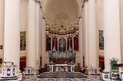 Kerk van Heilige John Doopsgezind, Malta Royalty-vrije Stock Afbeelding