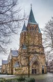 Kerk van Heilige Lawrence, Warendorf, Duitsland royalty-vrije stock fotografie