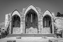 Kerk van heilige-Marie-du-Bourg stock foto