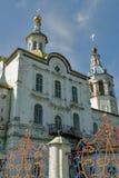 Kerk van Heilige Michael de Aartsengel Tobolsk Stock Foto