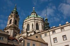 Kerk van heilige Nicolas Stock Afbeelding
