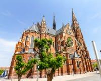 Kerk van Heilige Peter en Paul in Osijek, Kroatië royalty-vrije stock afbeeldingen