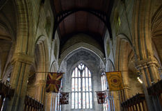Kerk van Heilige Ruw - Binnenland Stock Fotografie