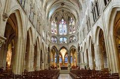 Kerk van heilige-Severin, Parijs Stock Afbeelding