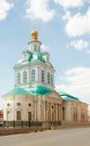 Kerk van Heiligen Florus en Laurus, Tula, Rusland Royalty-vrije Stock Foto