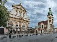 Kerk van Heiligen Peter en Paul Stock Afbeeldingen