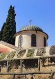 Kerk van het eerste mirakel Stock Afbeeldingen